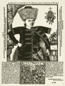 engraving by France Sniadecki, 1606