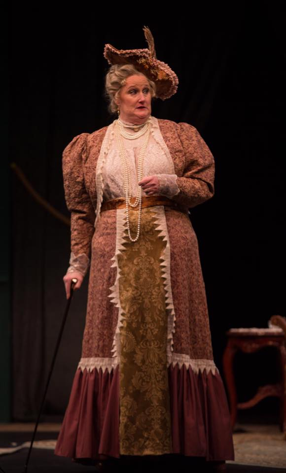 Ms. Waite as Lady Bracknell