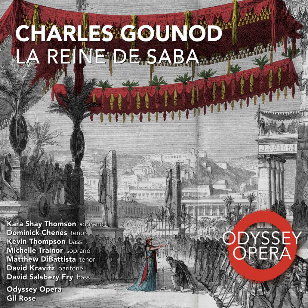 La Reine de Saba Recording Cover